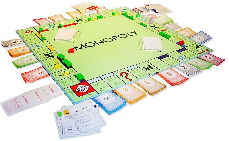 Monopoly this is math and communication let your 6 9 year old count