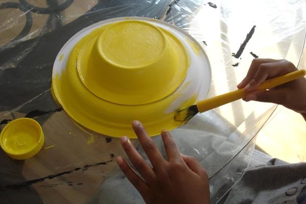 Шляпка из подручных материалов
