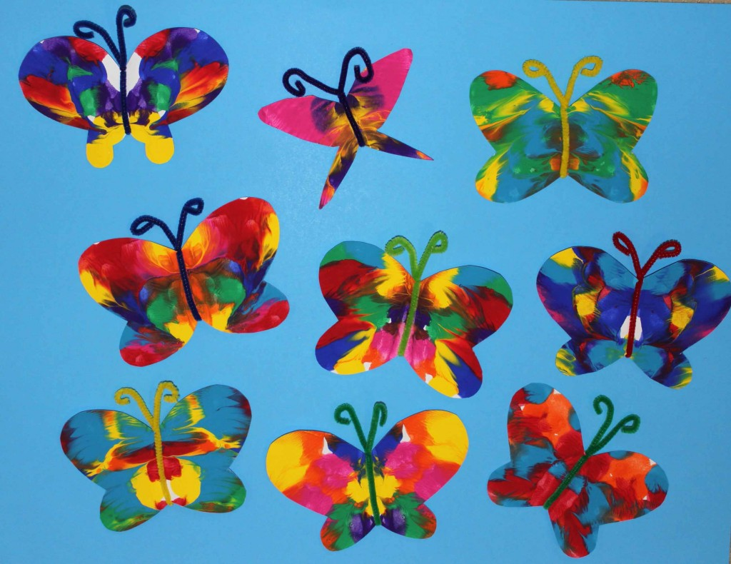 Showcase Your Butterflies In A Window Create Hanging Mobile Or Simply Have Fun With Some Pretend Play Fluttering Around