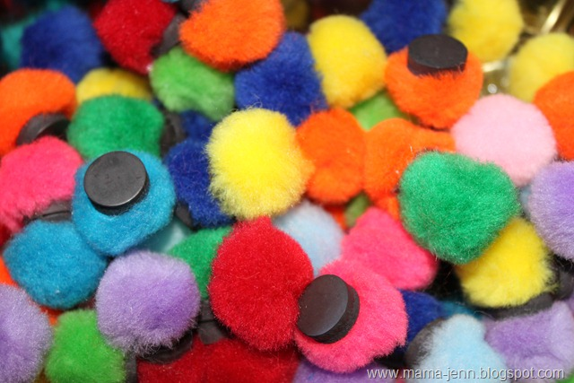 Puff Ball Magnets The End In Mind