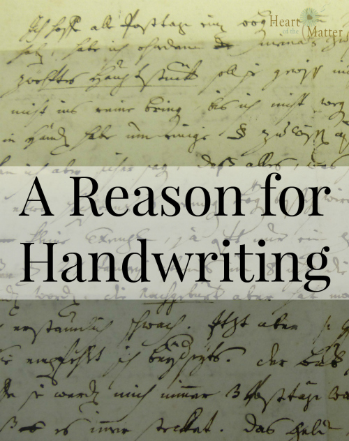 reasons for writing