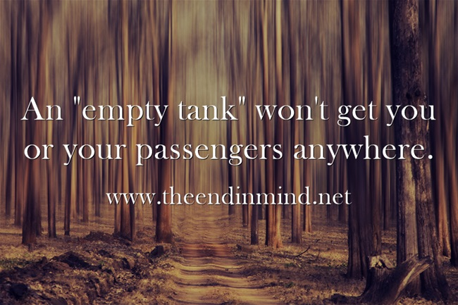 An-empty-tank-wont-get