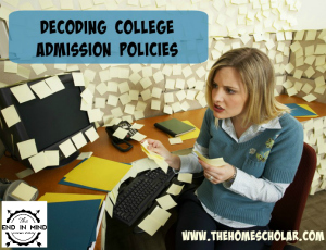 Decoding College Admission Policies