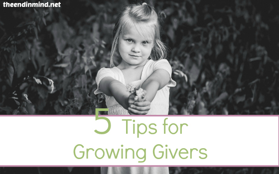 5 Tips for Growing Givers