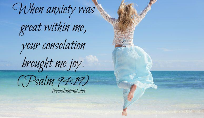 Consolation to Joy